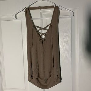 Kendal + Kylie Halter Top Size SMALL